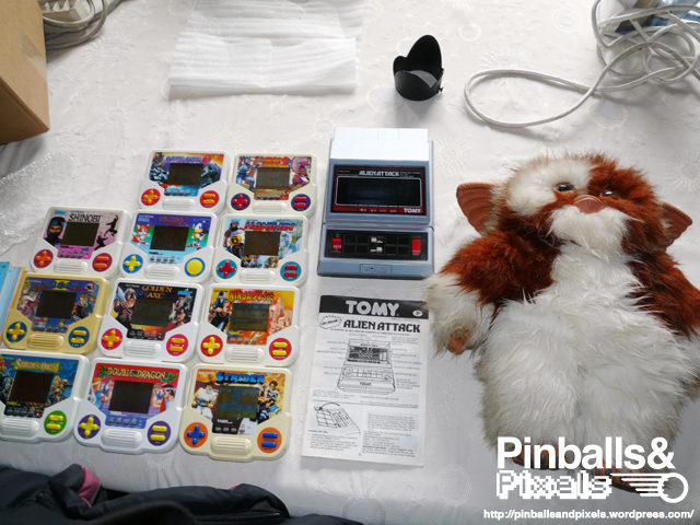 flea market gizmo / handhelds from collector